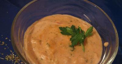 Морковно-сливочный соус