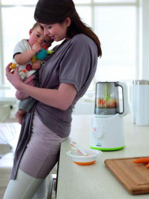 пароварка для детей, психологический климат, приготовление с малышом