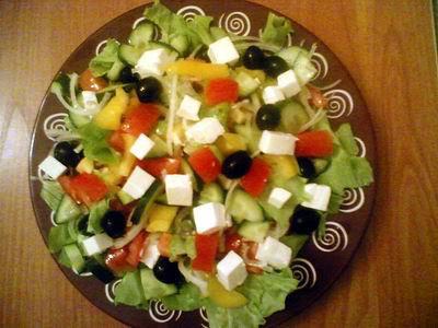 Рецепт вкусного салата по-гречески