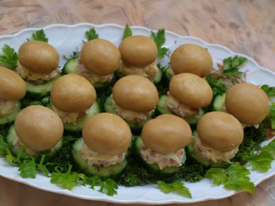 оригинальные рецепты салатов и закусок