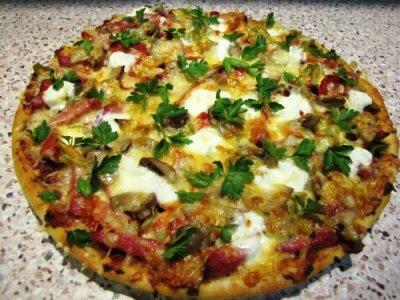 тесто для пиццы хлебопечке