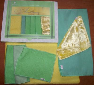Используем мягкие полотенца для фарфора