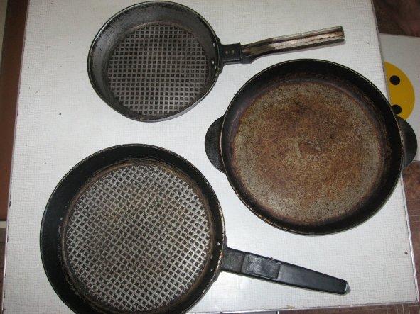 Как сделать чтоб чугунная сковорода не ржавела