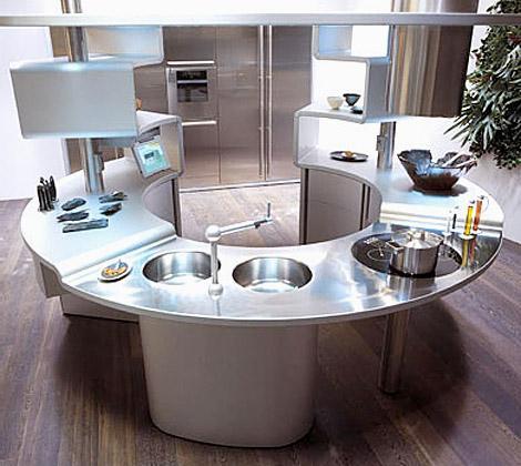 Современный интерьер кухни чудо