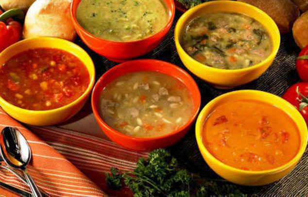 Кулинарные рецепты супов с фото