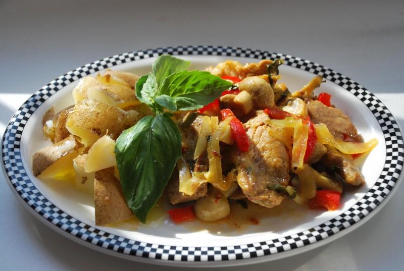 Блюда со свининой на сковородке рецепты с фото