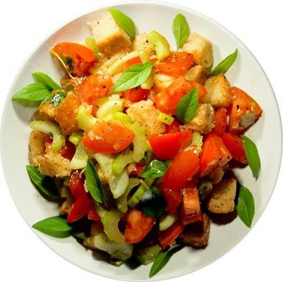 рецепты овощных салатов без фото