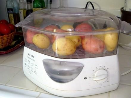 Домашняя картошечка с ветчиной