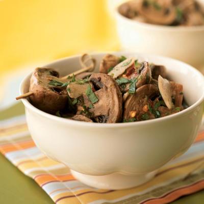 Блюда из грибов и желудков
