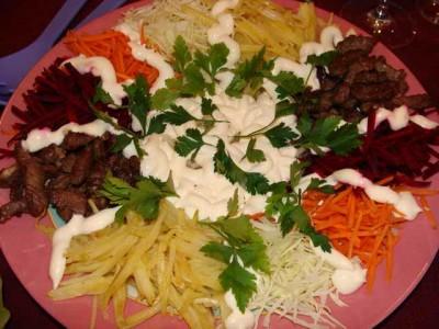 рецепт салат чефан с редькой