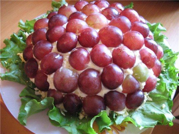 рецепты салатов вкусняшка с фото